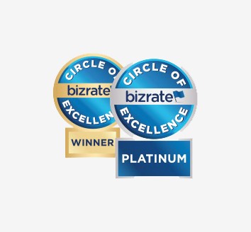 Bizrate Circle of Excellence Badges
