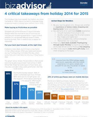 Connexity Holiday 2014 BizAdvisor