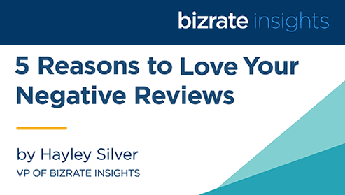 5 Reasons to Love Your Negative Reviews