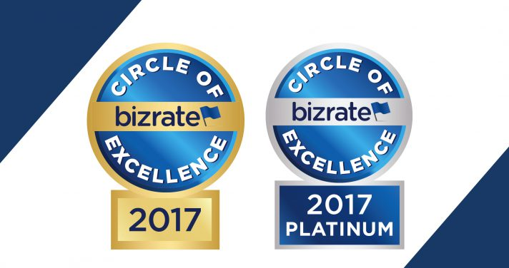 Circle of excellence 2017 and platinum circle of excellence badge
