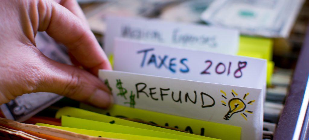 tax refund 2018
