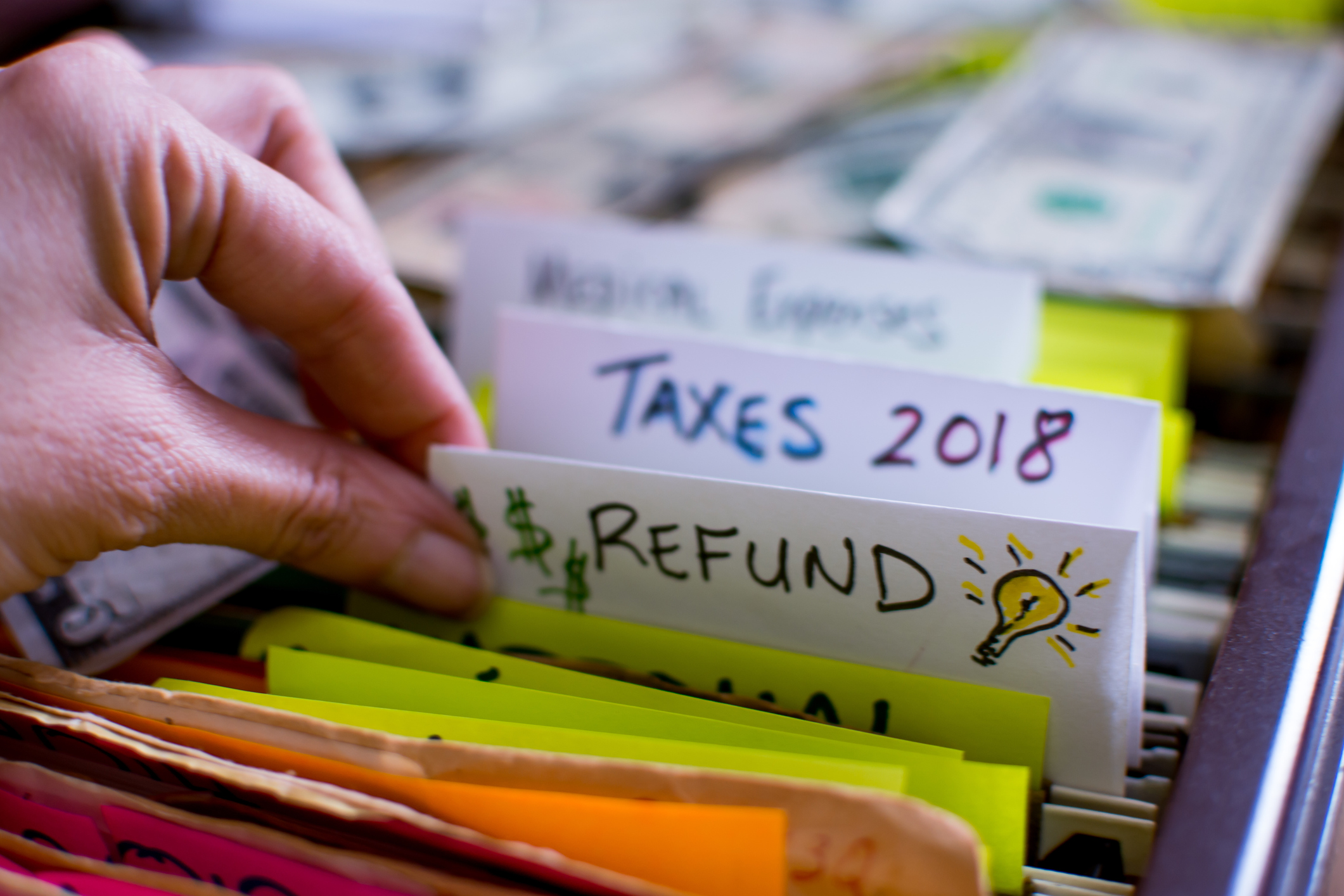 tax refund 2018