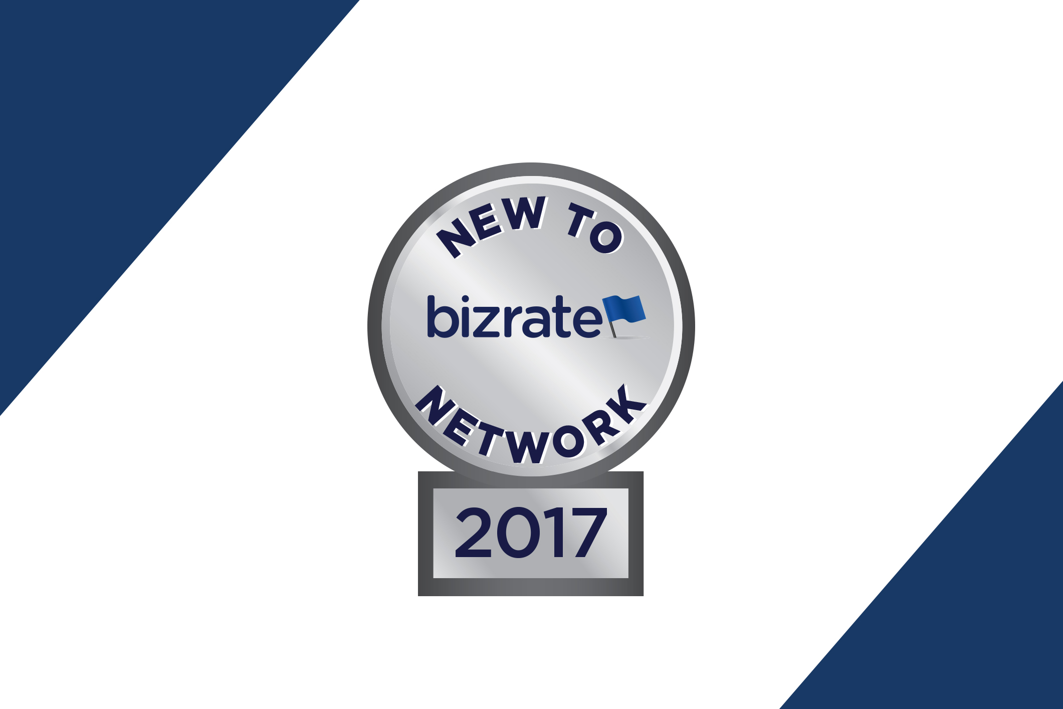 new to network honoree status badge logo
