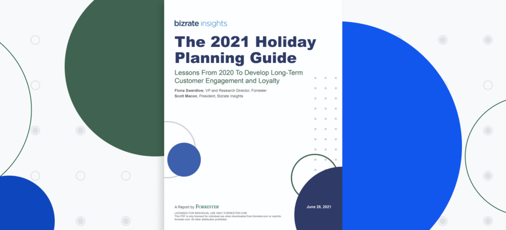 forrester 2021 ecommerce holiday planning guide